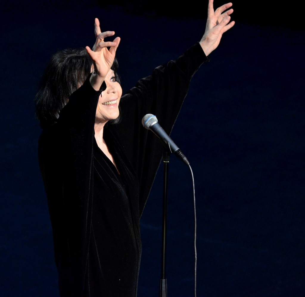 Juliette Gréco proposera un programme hommage à Jacques Brel. Photo d'archives