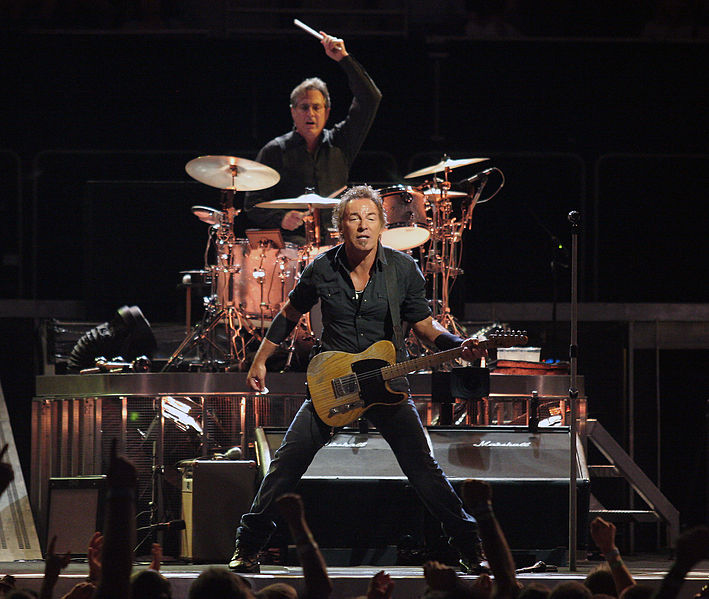 Bruce Springsteen et Max Weinberg. Photo Creative Commons.
