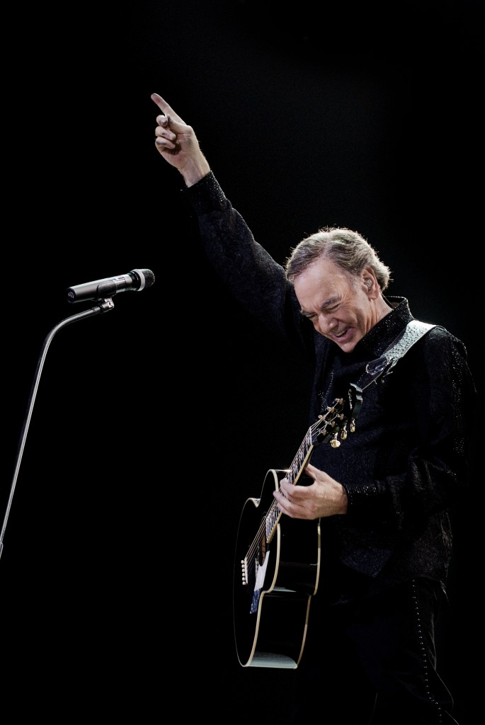 Toujours talentueux à 71 ans, Neil Diamond. Photo courtoisie Andreas Terlaak.