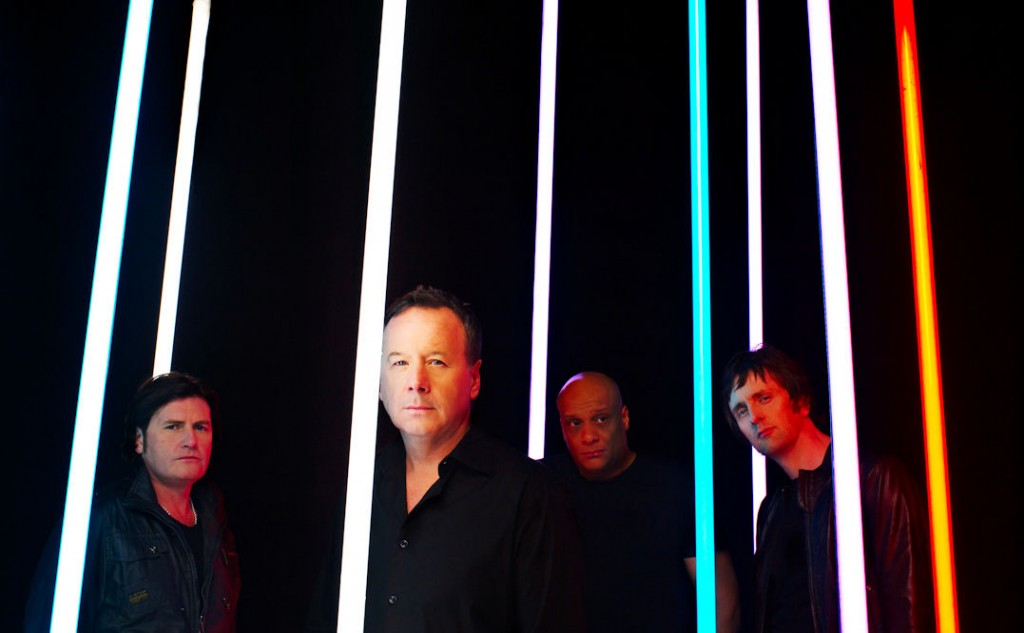 Simple Minds. Photo de promotion.