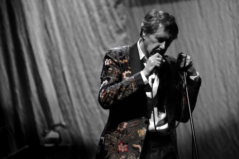 Bryan Ferry. Photo promotionnelle.