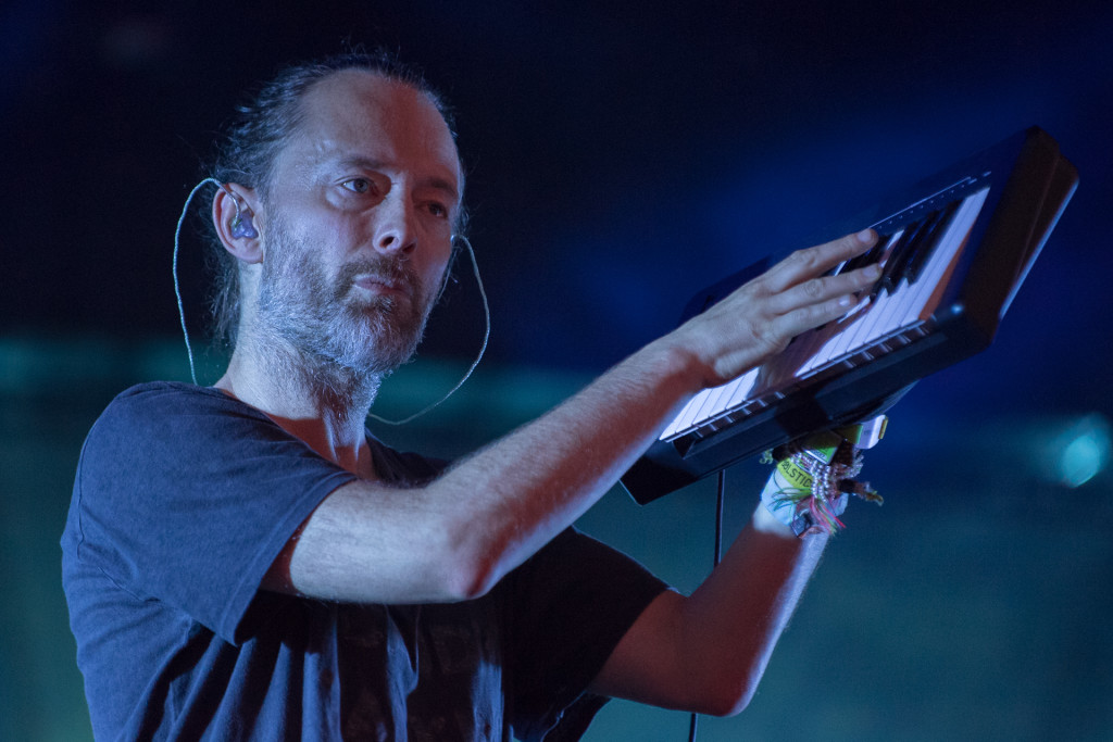 Thom Yorke, intense, comme d'habitude. Photo courtoisie evenko/Claude Dufresne