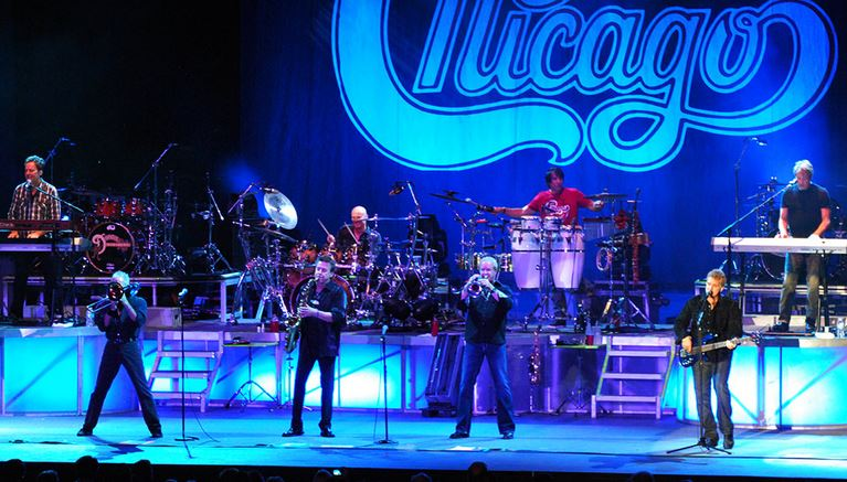 Le groupe Chicago/Chicagotheband.com