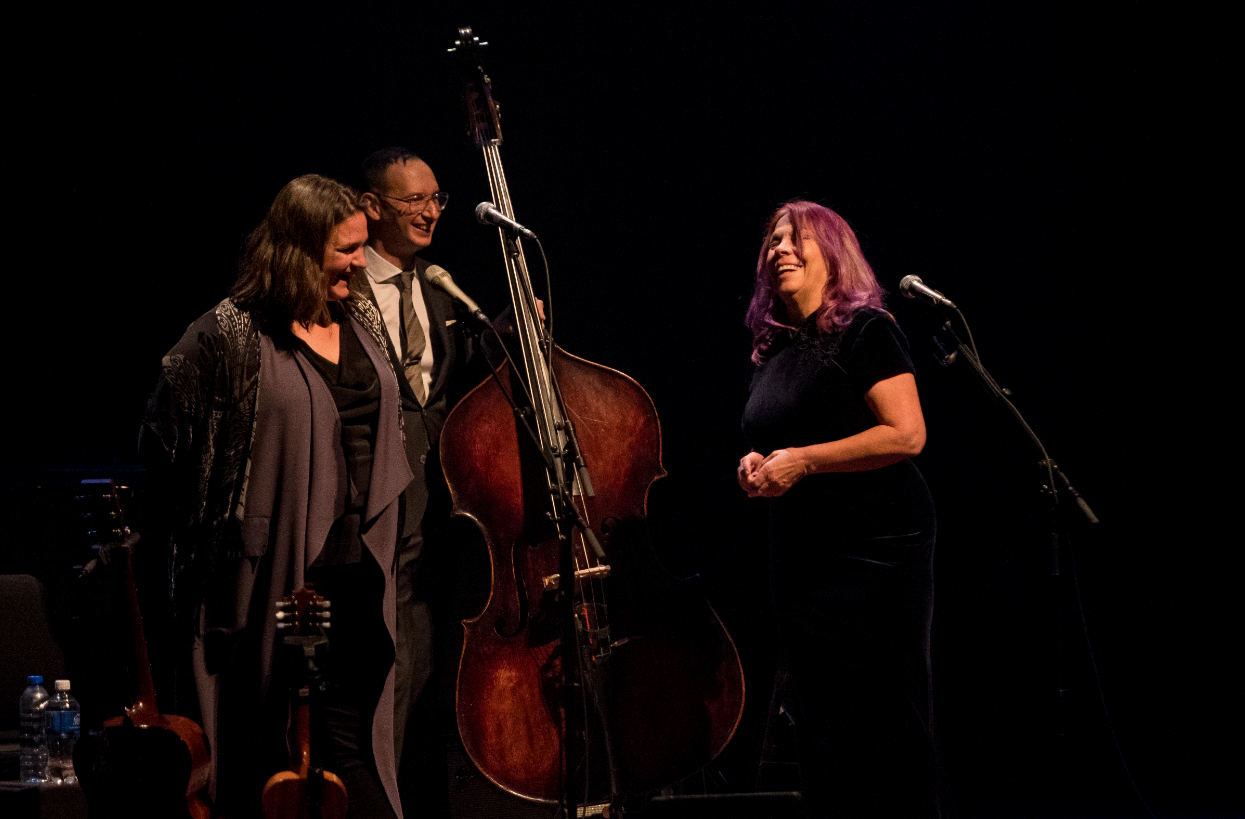 Madeleine Peyroux et Rickie Lee Jones. Photo courtoisie MEL/Benoit Rousseau