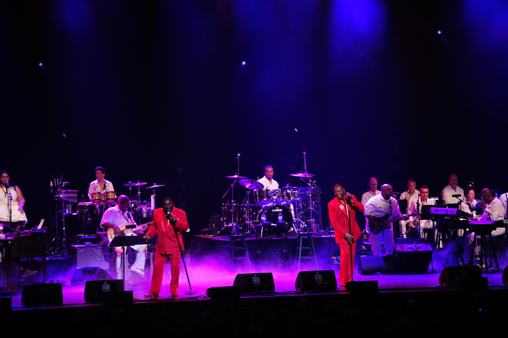 The O'Jays. Photo Victor Diaz-Lamich/Courtoisie FIJM