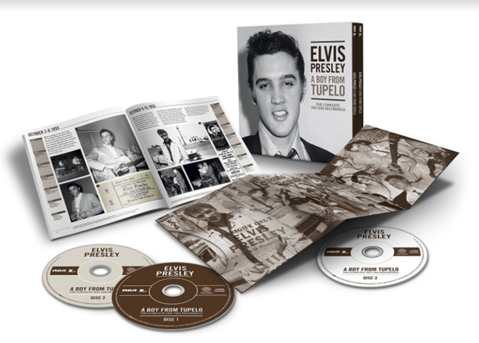 Elvis-A Boy From Tupelo-Coffret