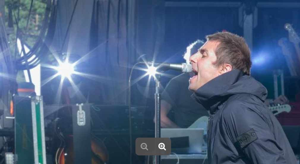 Liam Gallagher en forme/Photo gracieuseté evenko/Pat Beaudry