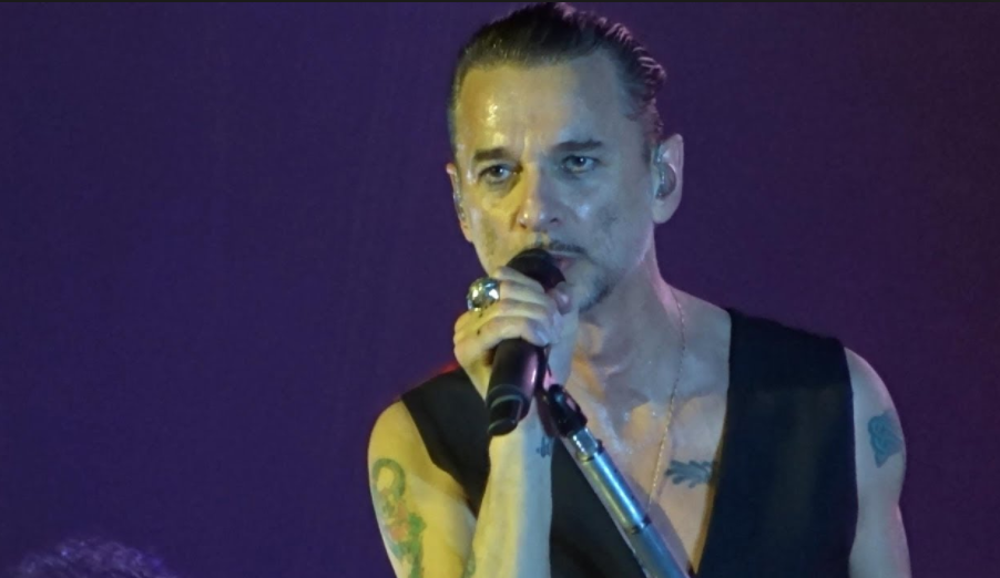 Dave Gahan, de Depeche Mode/Capture d'écran/Youtube