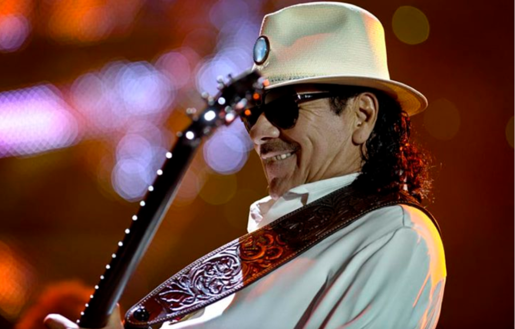 Carlos Santana/Photo d'archives/Chantal Poirier