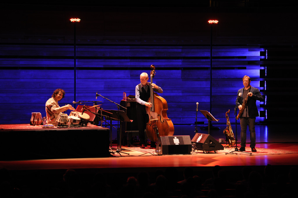 Zakir Hussain, DAve Holland et Chris Potter-Photo Frédérique Ménard-Aubin-FIJM