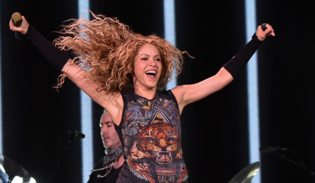 La tornade Shakira au Centre Bell. Photo Kevin Masur Getty Imagres pour Live Nation