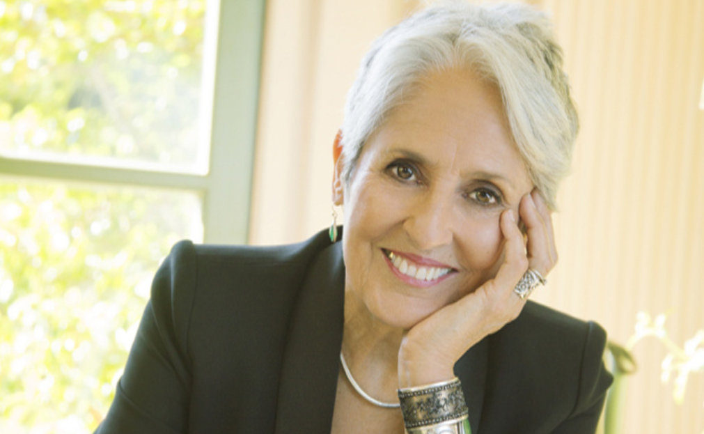 Joan Baez. Photo promotionnelle evenko