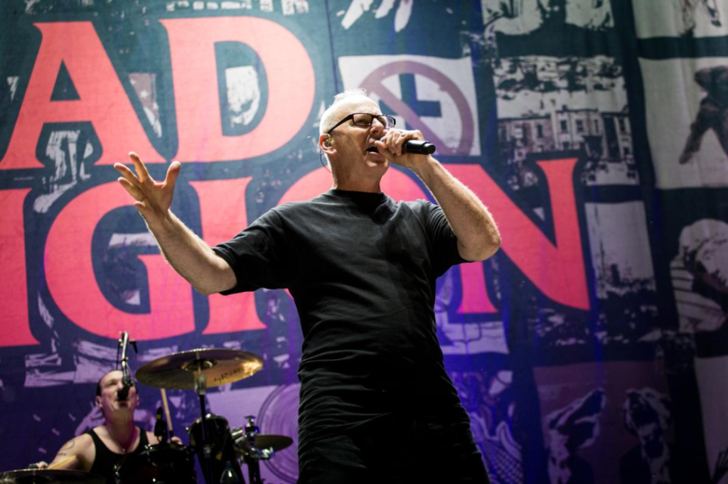 Greg Graffin de Bad Religion. Photo courtoisie Evenko/Tim Snow