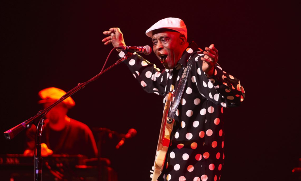 Buddy Guy. Photo courtoisie FIJM/Benoit Rousseau