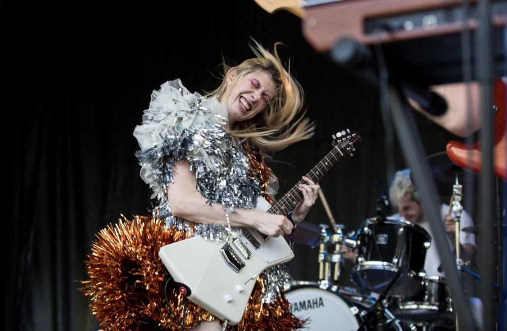 La chanteuse de Charly Bliss. Photo courtoisie Evenko/Pierre Bourgault