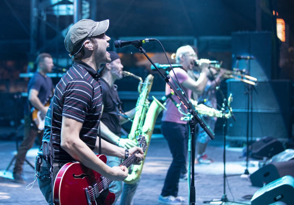 Streetlight Manifesto a mis le feu. Photo courtoisie Evenko/Pat Beaudry
