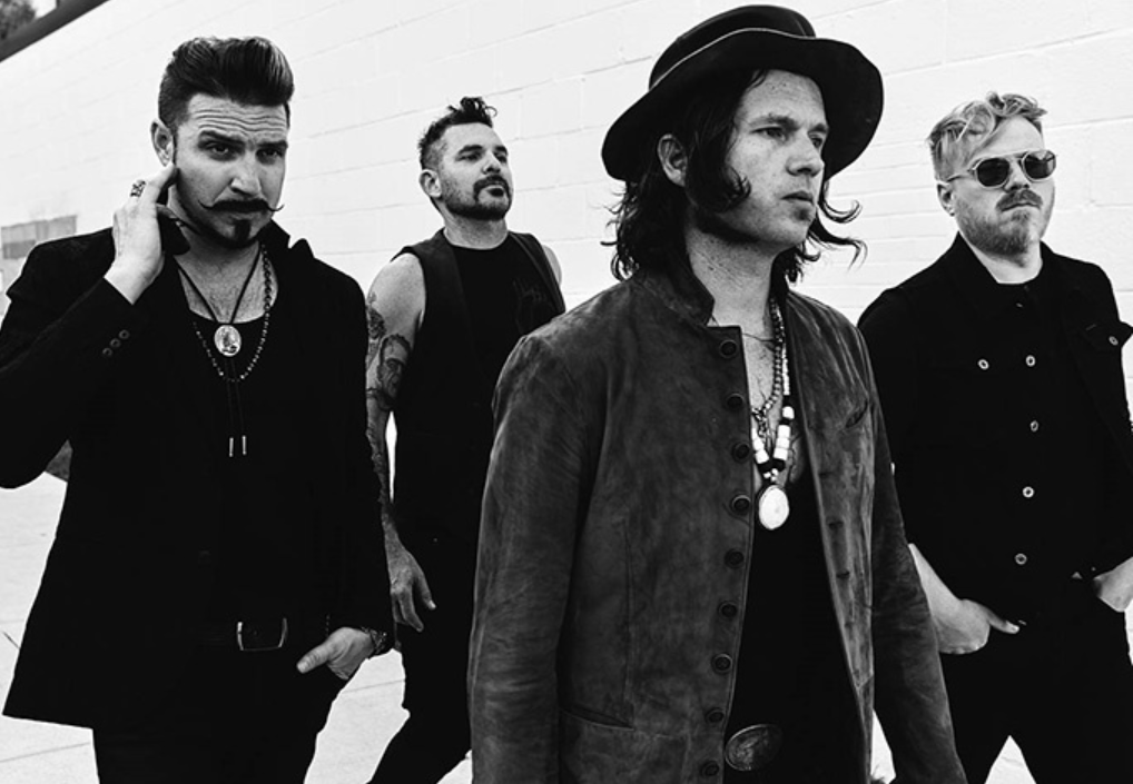 Rival Sons: Holiday, Miley, Buchanan et Beste. Photo promotionnelle